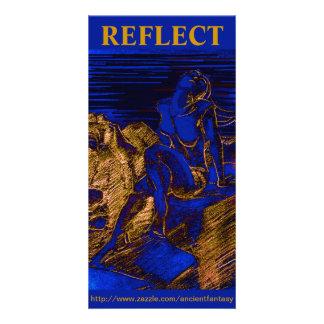 """""""REFLECT"""" Custom Fine Art Photocard Card"""