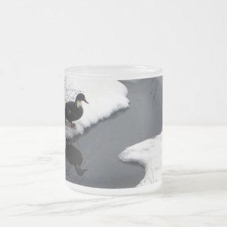 Reflect Frosted Glass Coffee Mug