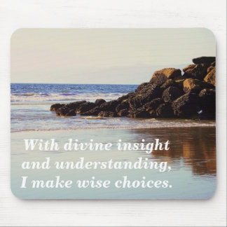 Reflect & Live_ Mousepad_by Elenne Mouse Pad
