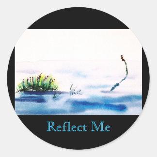 Reflect Me Sticker