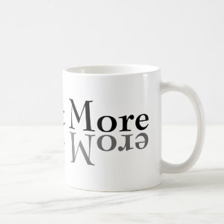Reflect More Classic White Coffee Mug