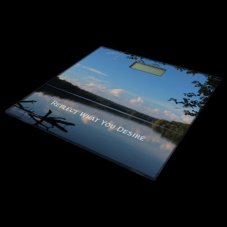 Reflect What You Desire Quote Loch Raven Reservoir Bathroom Scale
