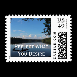 Reflect What You Desire Quote Loch Raven Reservoir Postage
