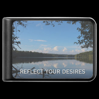 Reflect What You Desire Quote Loch Raven Reservoir Power Bank
