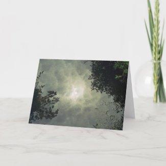 Reflected Card card