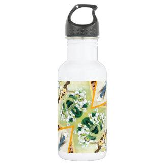 Reflected Flowers 18oz Water Bottle