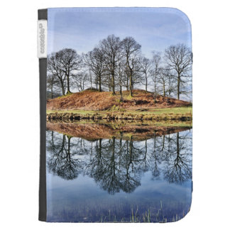 Reflected Trees Kindle Case