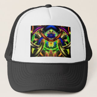 Reflecting Bands of Color Trucker Hat