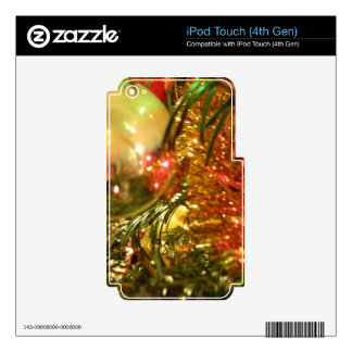 Reflecting Christmas Skins For iPod Touch 4G