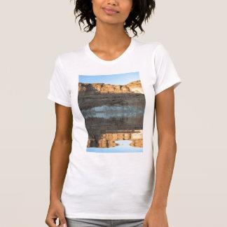 Reflecting Desert Cliff by KLM T-Shirt