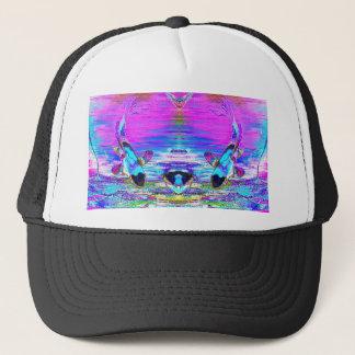 Reflecting Fish Trucker Hat