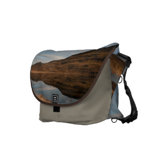 Reflecting Iceland Messenger Bags