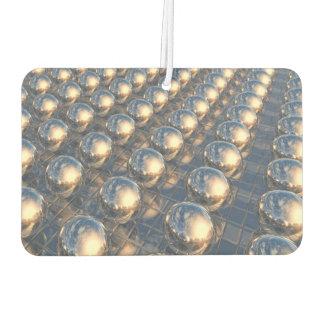Reflecting Metal Spheres Air Freshener