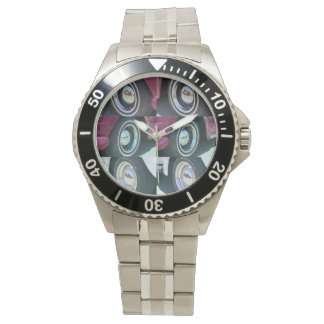 Reflecting Moons Classic Stainless Steel Watch