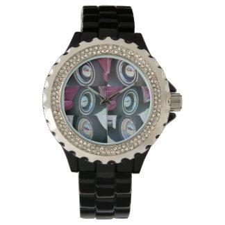 Reflecting Moons Rhinestone with Black Watch