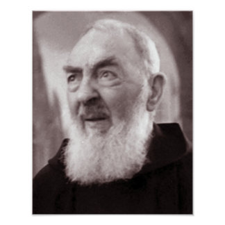 Reflecting Padre Pio, Poster