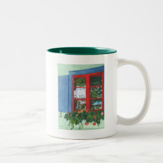 Reflecting Panes Two-Tone Coffee Mug