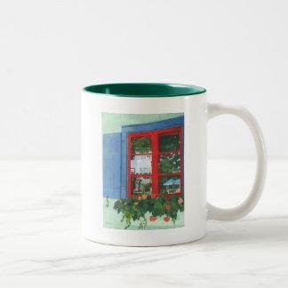 Reflecting Panes Two-Tone Coffee Mug