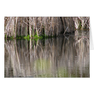 Reflecting Pond Stationery Note Card