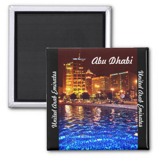 Reflecting Pool 2 Inch Square Magnet
