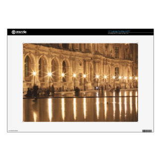 Reflecting pool at the Louvre, Paris, France Laptop Skin