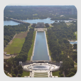 reflecting pool from Washington Monument.jpg Stickers