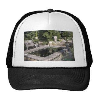 Reflecting Pool in a Garden Trucker Hat