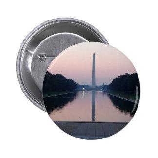 Reflecting Pool Pinback Button