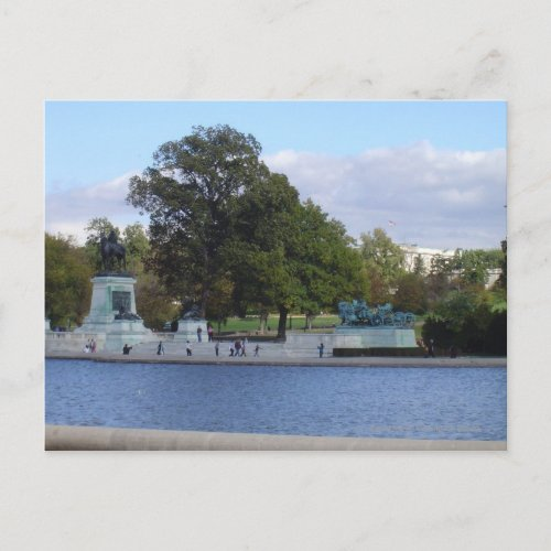 Reflecting Pool postcard