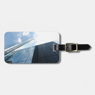 Reflecting Skyscrapers Luggage Tags