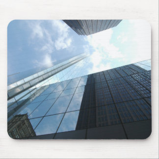 Reflecting Skyscrapers Mouse Pad