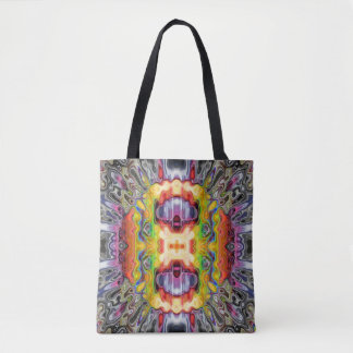 Reflecting Spectral Abstract Tote Bag