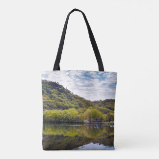 Reflecting Spring Tote Bag
