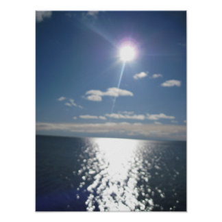 Reflecting Sun Poster