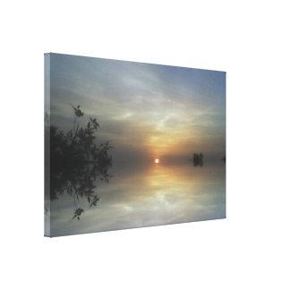 Reflecting Sunshine Canvas Print