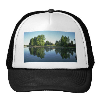 Reflecting The Picture Trucker Hat