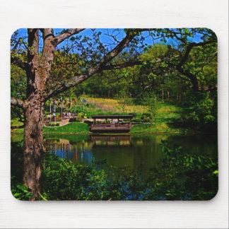 Reflection Across The Lake Mousepad Mouse Pad