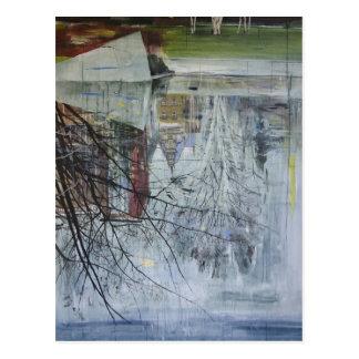 Reflection Architecture Planten un Blomen Postcard