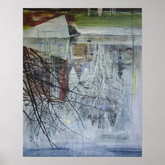 Reflection Architecture Planten un Blomen Poster