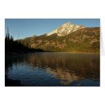 Reflection at Jenny Lake Grand Teton National Park Card