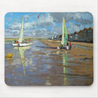 Reflection Bray Dunes France Mouse Pad