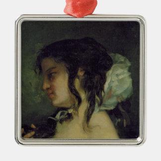 Reflection, c.1864-66 metal ornament