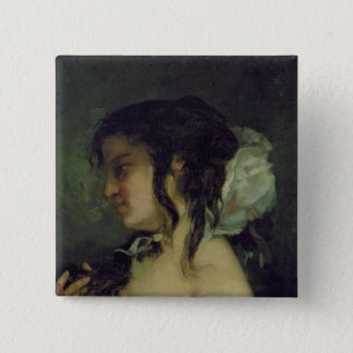 Reflection, c.1864-66 pinback button