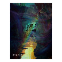 Reflection Cave Print