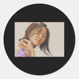 Reflection Classic Round Sticker