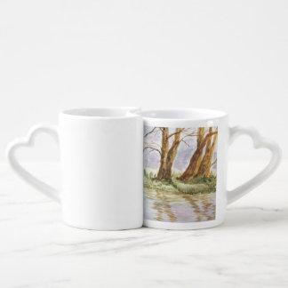 reflection coffee mug set