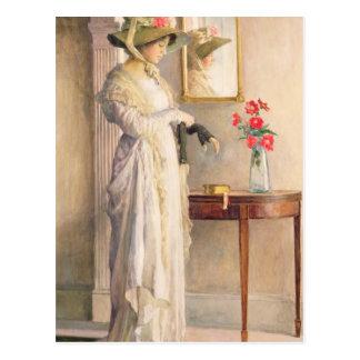 Reflection de un momento, 1909 postal