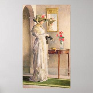 Reflection de un momento, 1909 póster