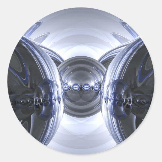 Reflection Design #7 Classic Round Sticker