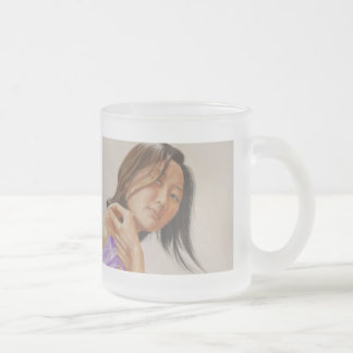Reflection Frosted Glass Coffee Mug
